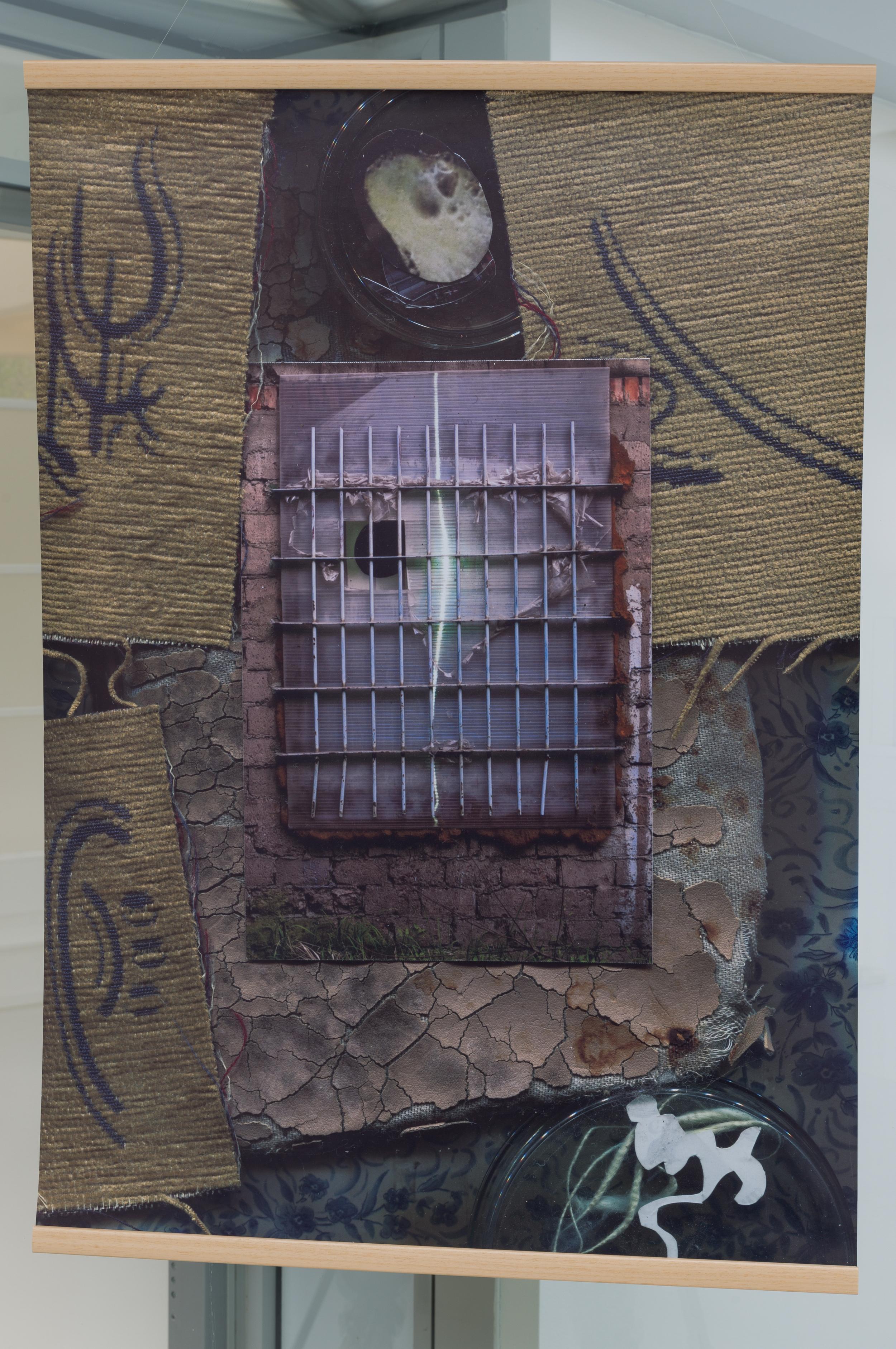 """Mateusz Kula, series """"Accidental still lives"""", 2014, tisk fotografické koláže, 100 x 70 cm"""