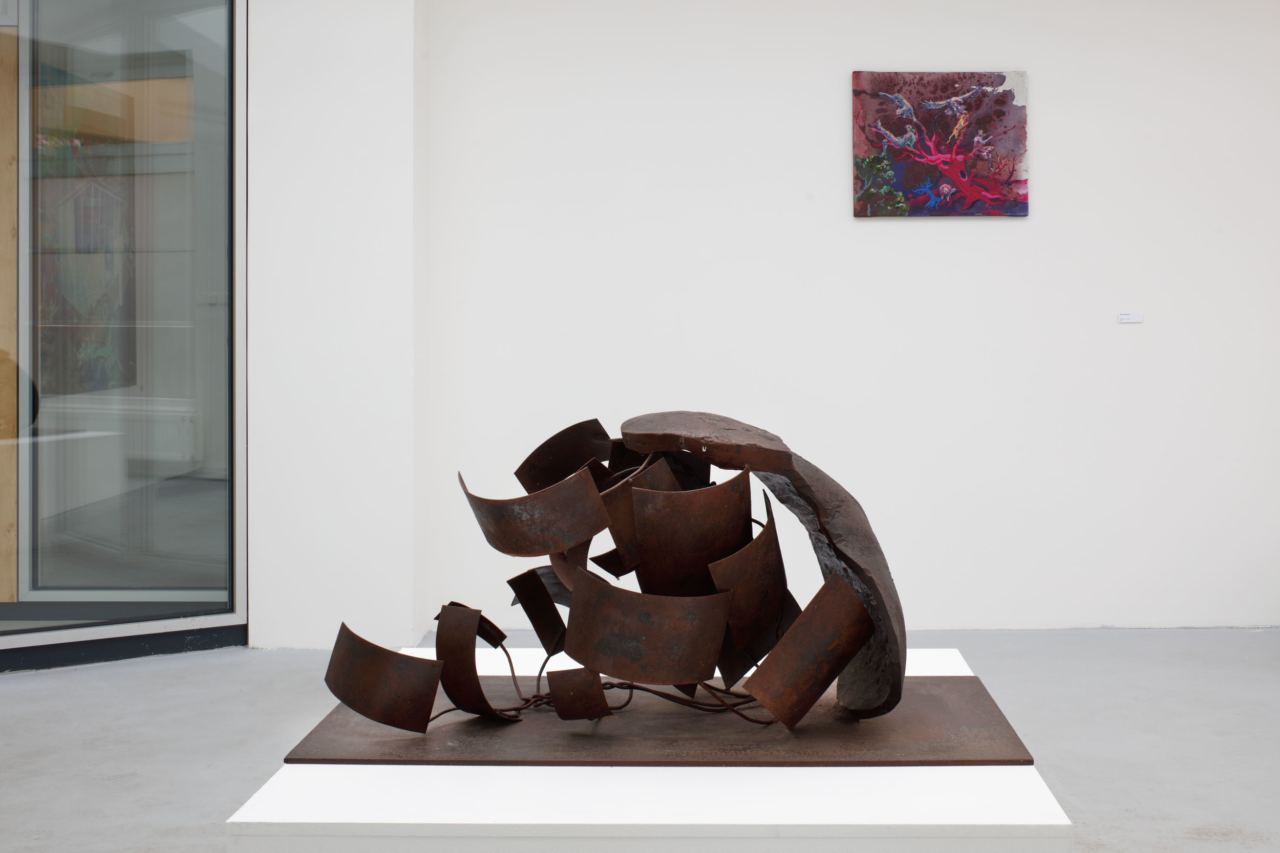Lukáš Rittstein, Den co den ocel, 2006, kov, 100 x 50 x 45 cm