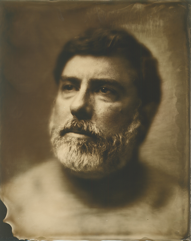 Harris Fogel (Tintype photo by C.J. Harker @ 2014)