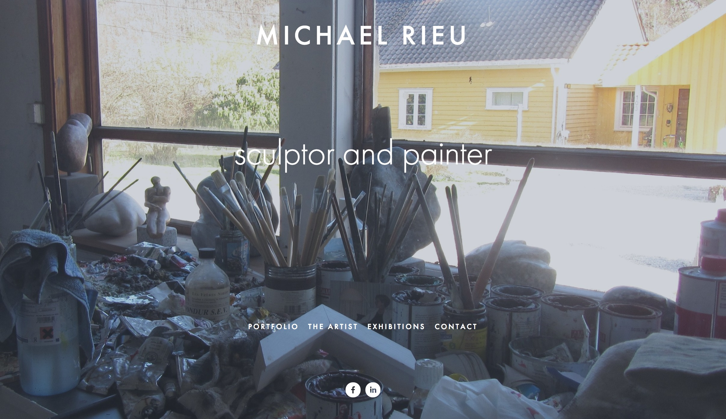 FireShot Capture 006 - MICHAEL RIEU - sculptor and painter - https___www.michaelrieu.com_.jpg