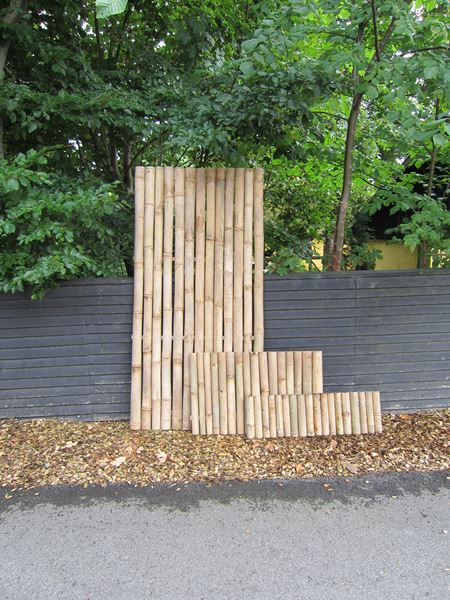 Bamboo-poles