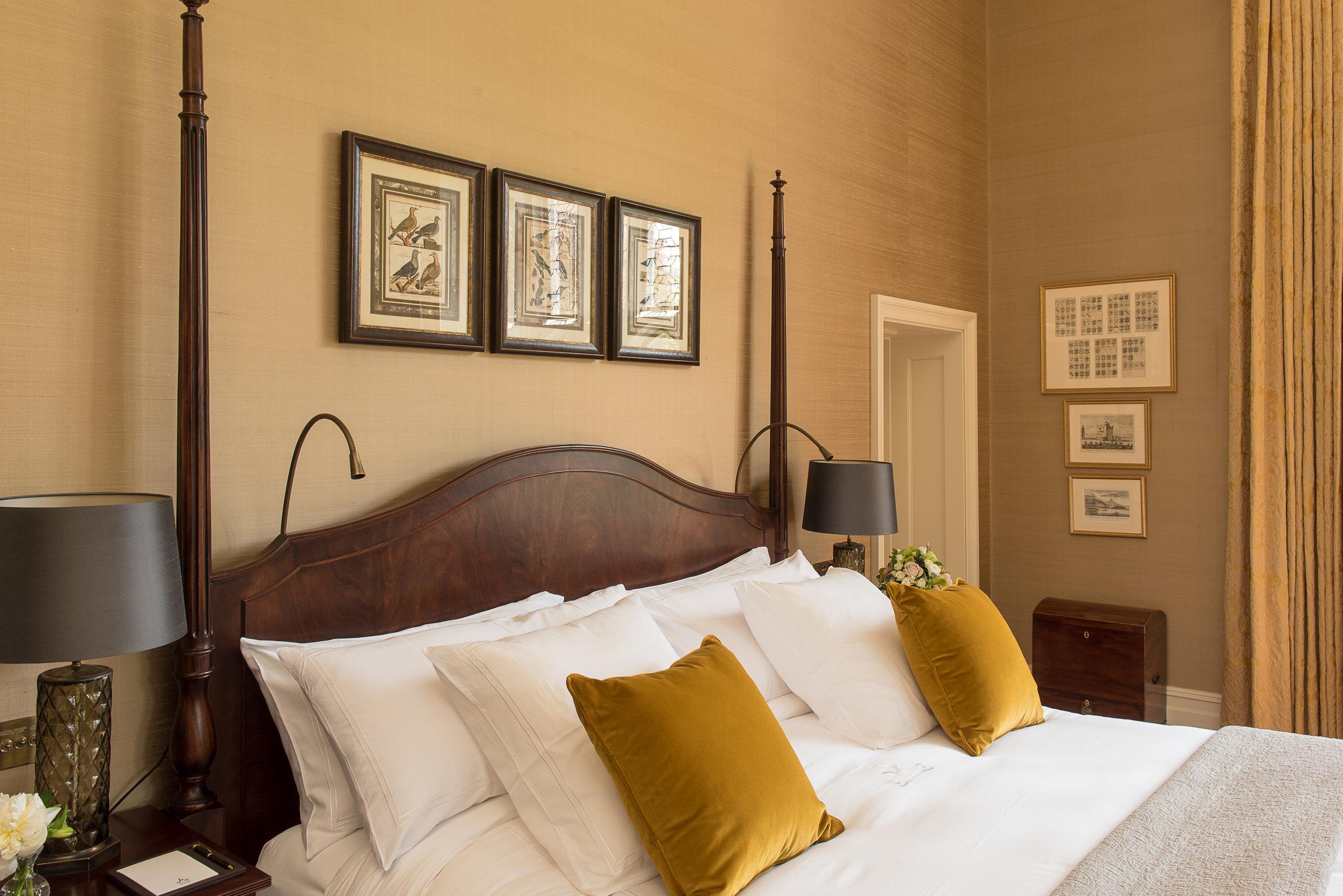 Guest Bedroom Gold Silk Bed.jpg