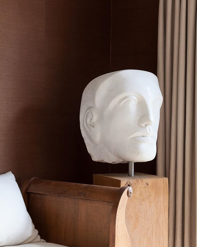 House projects #kimpartridgeinteriors #paulvanstone #stereowallpaper #interiordesign #sculpture