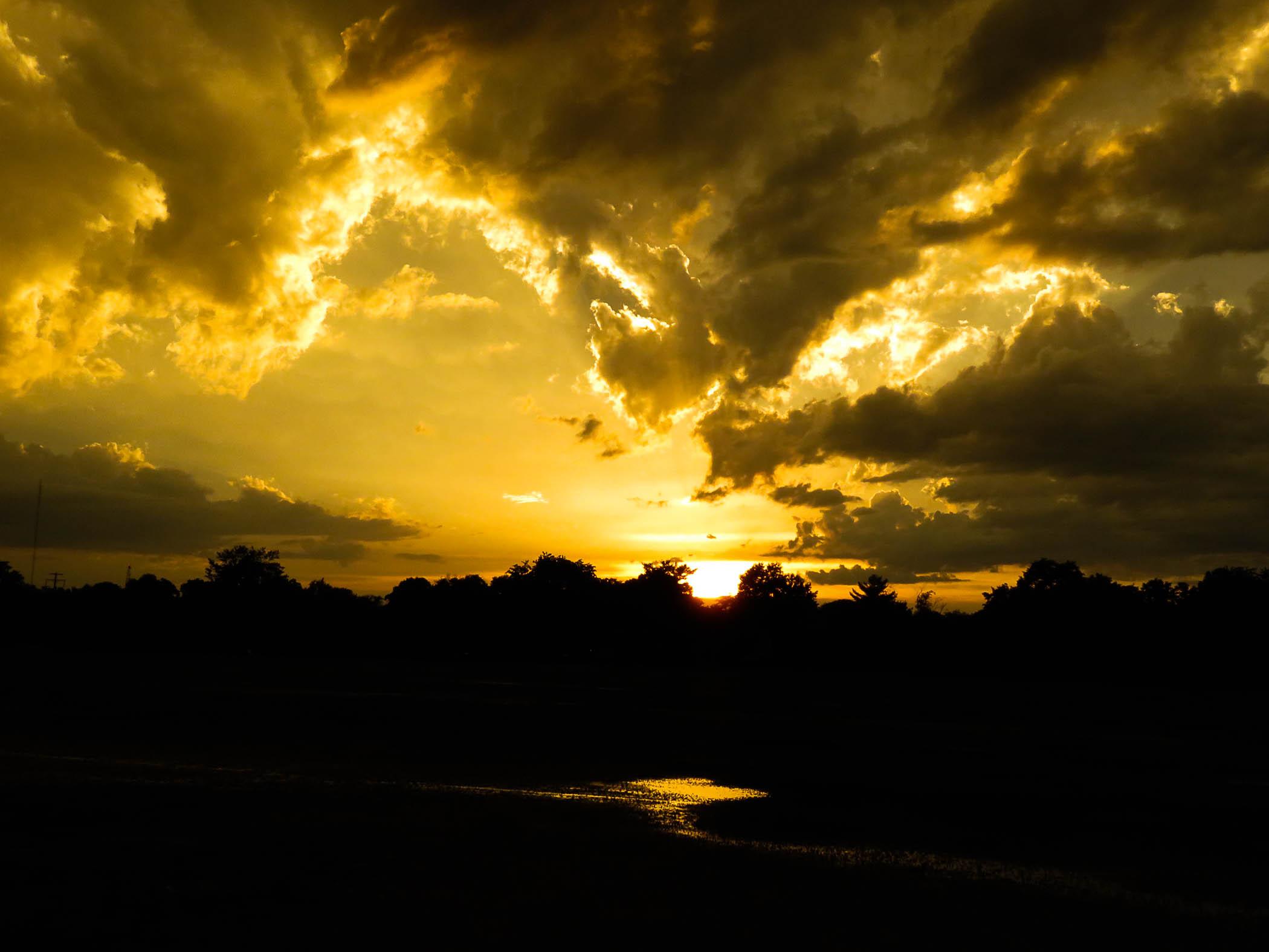 Golden Sunset, Annapolis