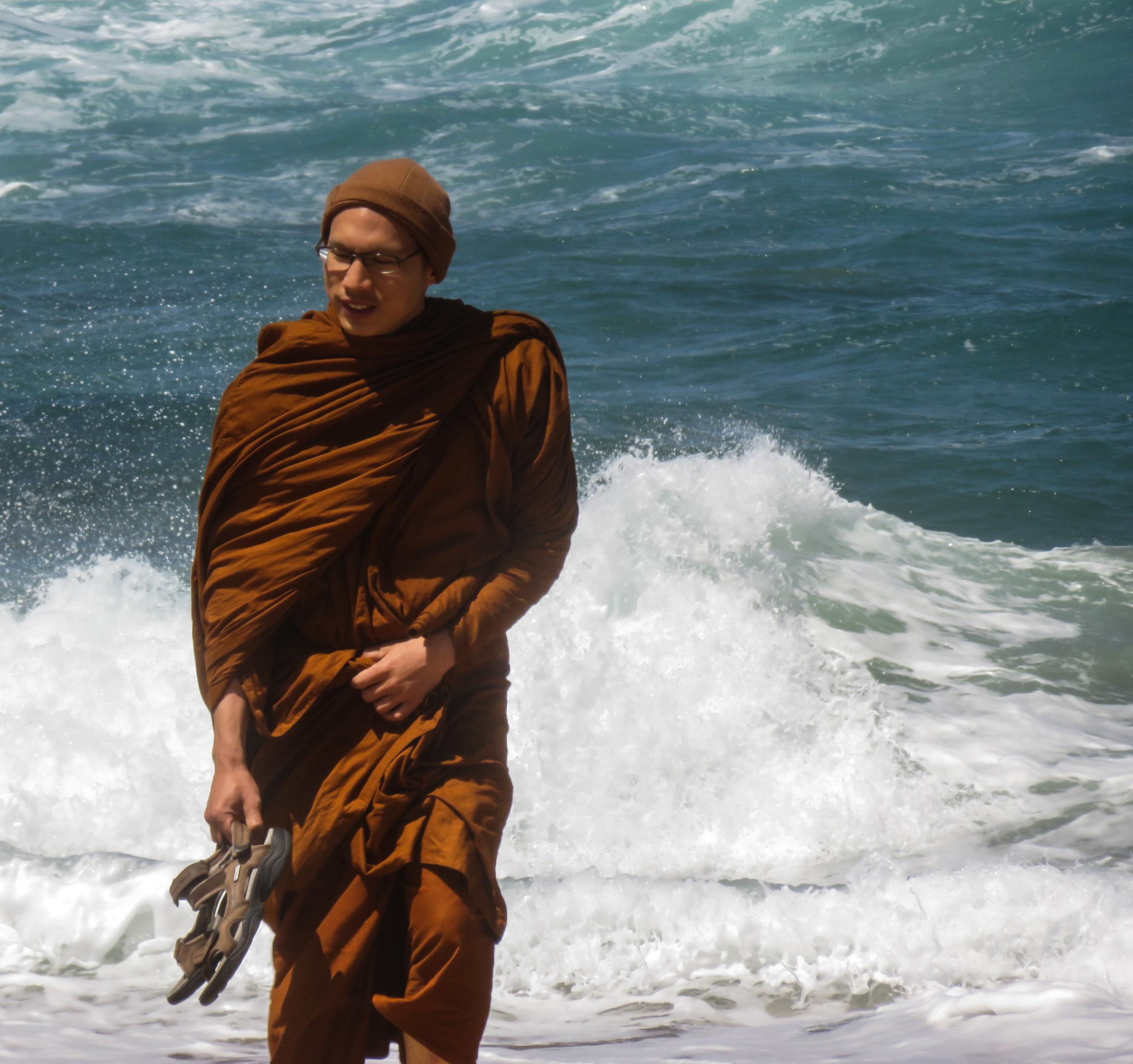 Monk on the Beach.jpg