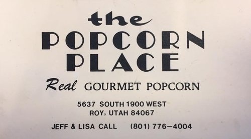 "Original business card from early 1980s.  Made before ""Lisa's Passion for Popcorn"" was officially founded in 1984."