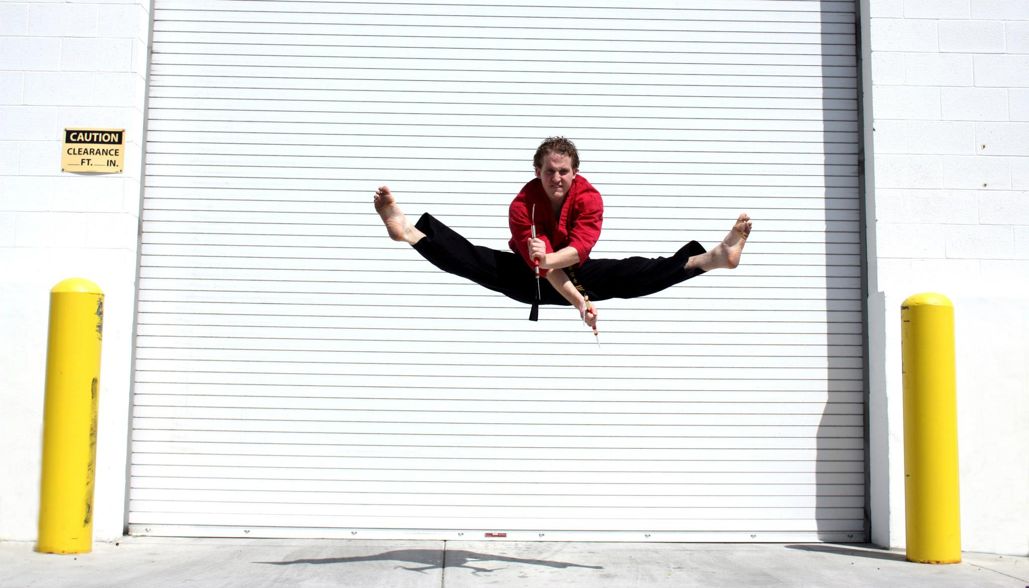 See... I told ya I did karate!