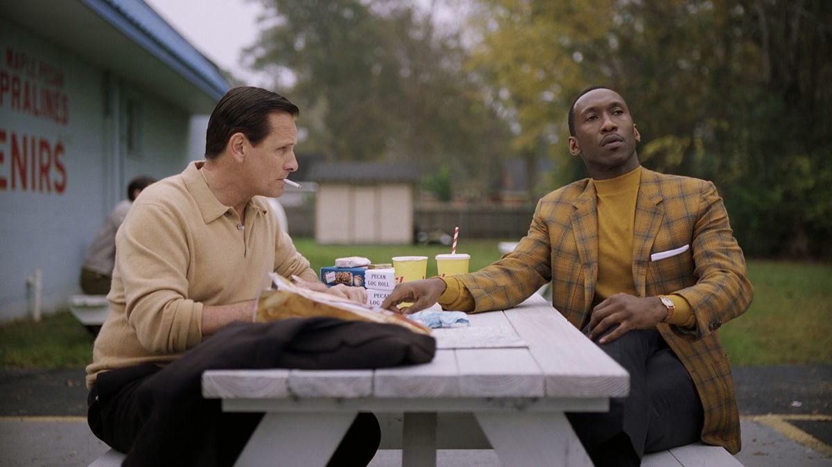 """Green Book"" is named for ""The Negro Motorist Green-Book"" hotel guide that was necessary for African-Americans to safely travel throughout the South in the Jim Crow era. It is a film that mainly focuses on the relationship between two entirely different men: one is the Italian-American tough guy Tony Vallelonga (Viggo Mortensen) and the other is Dr. Don Shirley (Mahershala Ali), a sophisticated maestro who is also gay and black. The two somehow end up spending a lot of time together when Shirley hires Vallelonga as his bodyguard during a playing tour through the Deep South. While ""Green Book"" works as an uplifting sort of buddy drama, there is nothing extraordinary about the film. It has the feel of a made-for-TV movie in many ways, and from the very beginning the viewer can deduce what will happen by the end. Perhaps the most glaring problem with ""Green Book"" is how Shirley's sexuality is skimmed over. When we discover that Shirley is gay, it is by far the most shocking revelation of the entire movie. Yet the film immediately shifts away from the subject and plods forward as if it were some small footnote. The same shallowness affects our understanding of Vallelonga's racist views, which are somehow erased throughout the film without any real turning point. Thus, ""Green Book"" fails to get at the heart of the very issues that make the setting of the film compelling in the first place."