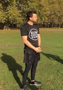 Cesare in Hackney's Victoria Park