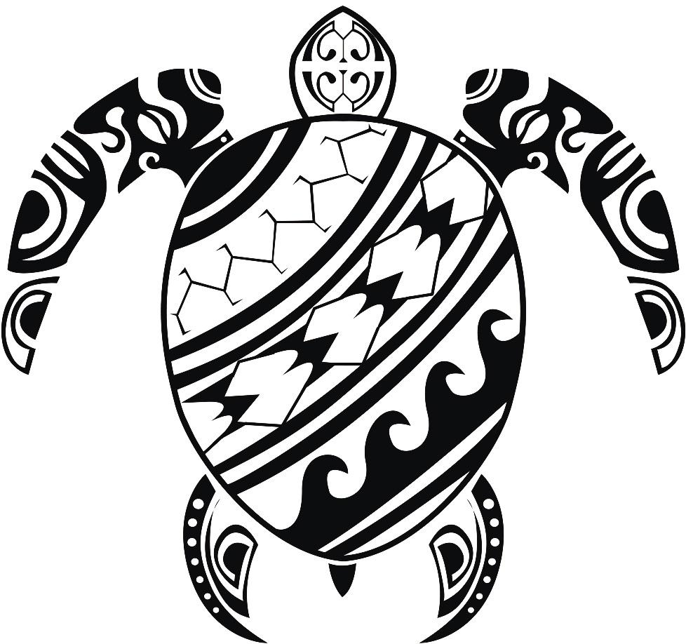 Ocean Tribe Turtle