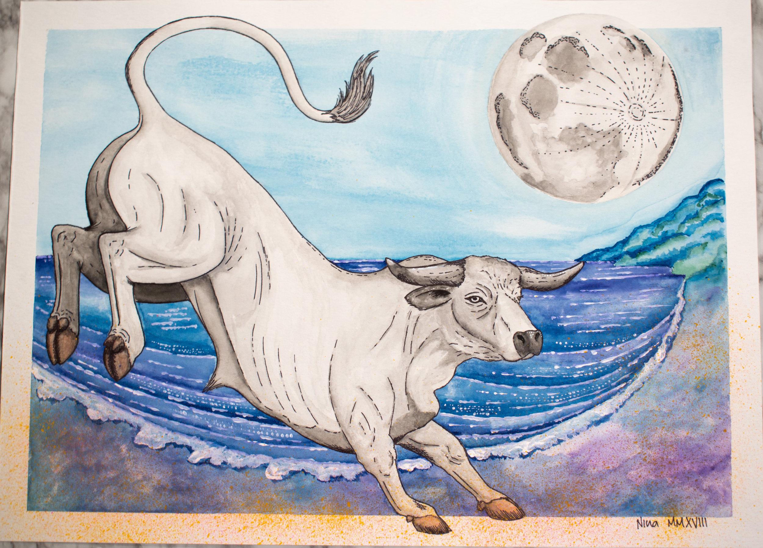El Toro Enamorado de la Luna