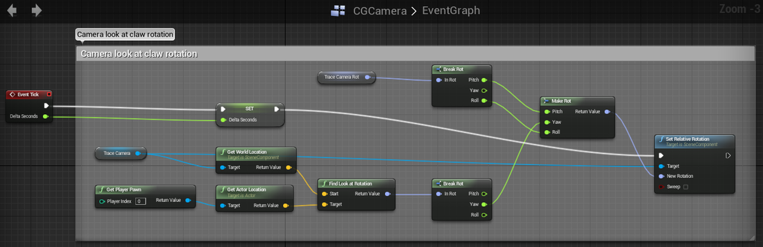WEEK 8 - 9 - PORTING TO UNREAL ENGINE 4, BLUEPRINTS — Deanna Giovinazzo