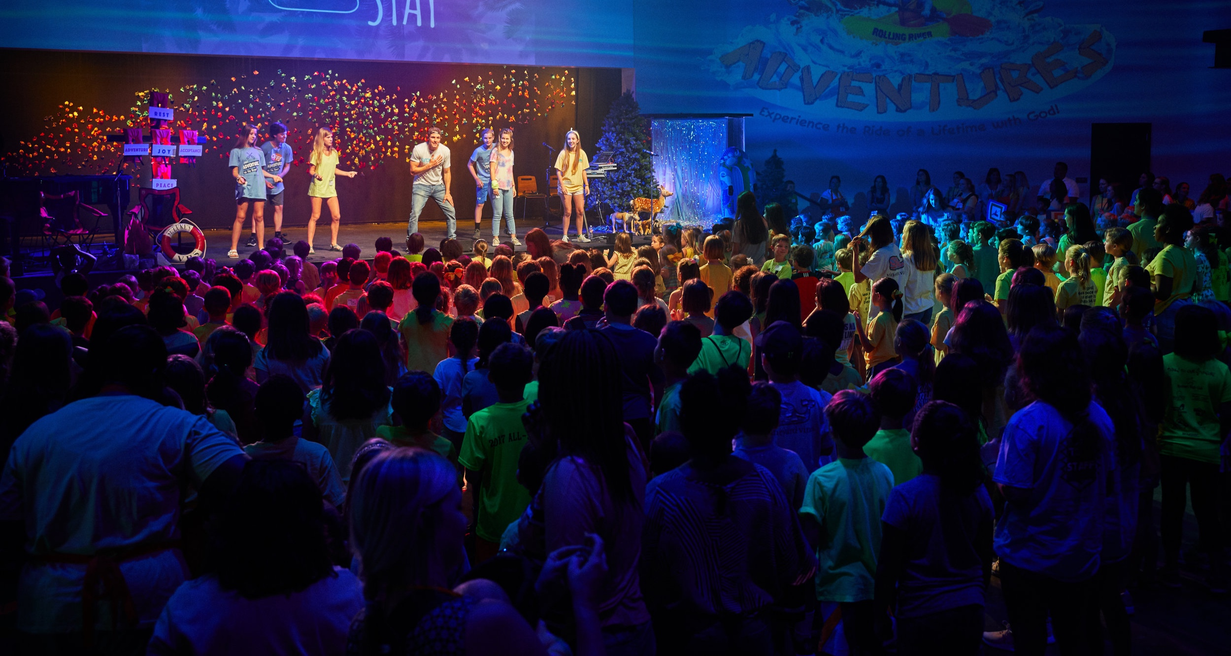 Christ-Focused Lyrics.Infectious Beats.High Energy Dance.Intentional Engagement. - Crosskid Nation's high energy and engaging worship has been called cardio-worship because it's so sweat inducing. With songs and dances specifically targeted to appeal to older kids and youth, your whole church will enjoy worshiping Jesus with Andy!