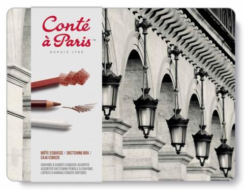 Conte a Paris Sketching Set