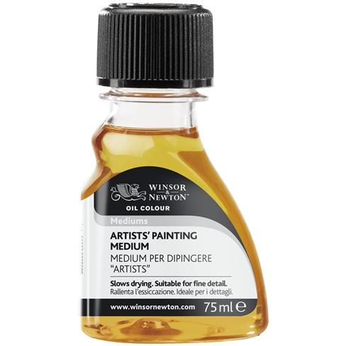 Artists Painting Medium
