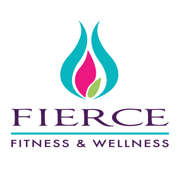 Fierce Fitness & Wellness logo, by DahlHouse Design