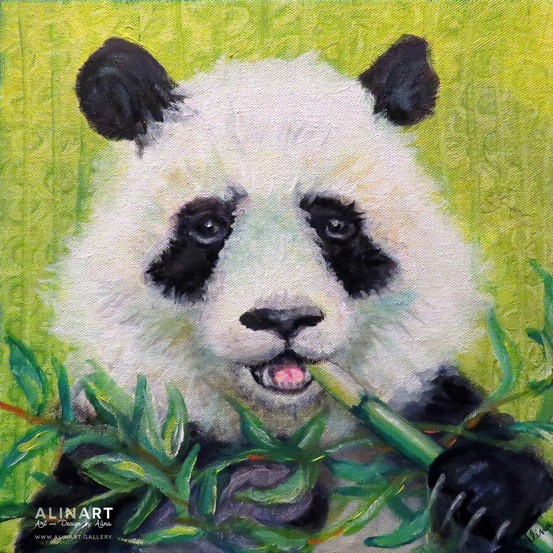 Bamboo Buffet , 2015, Acrylic on canvas