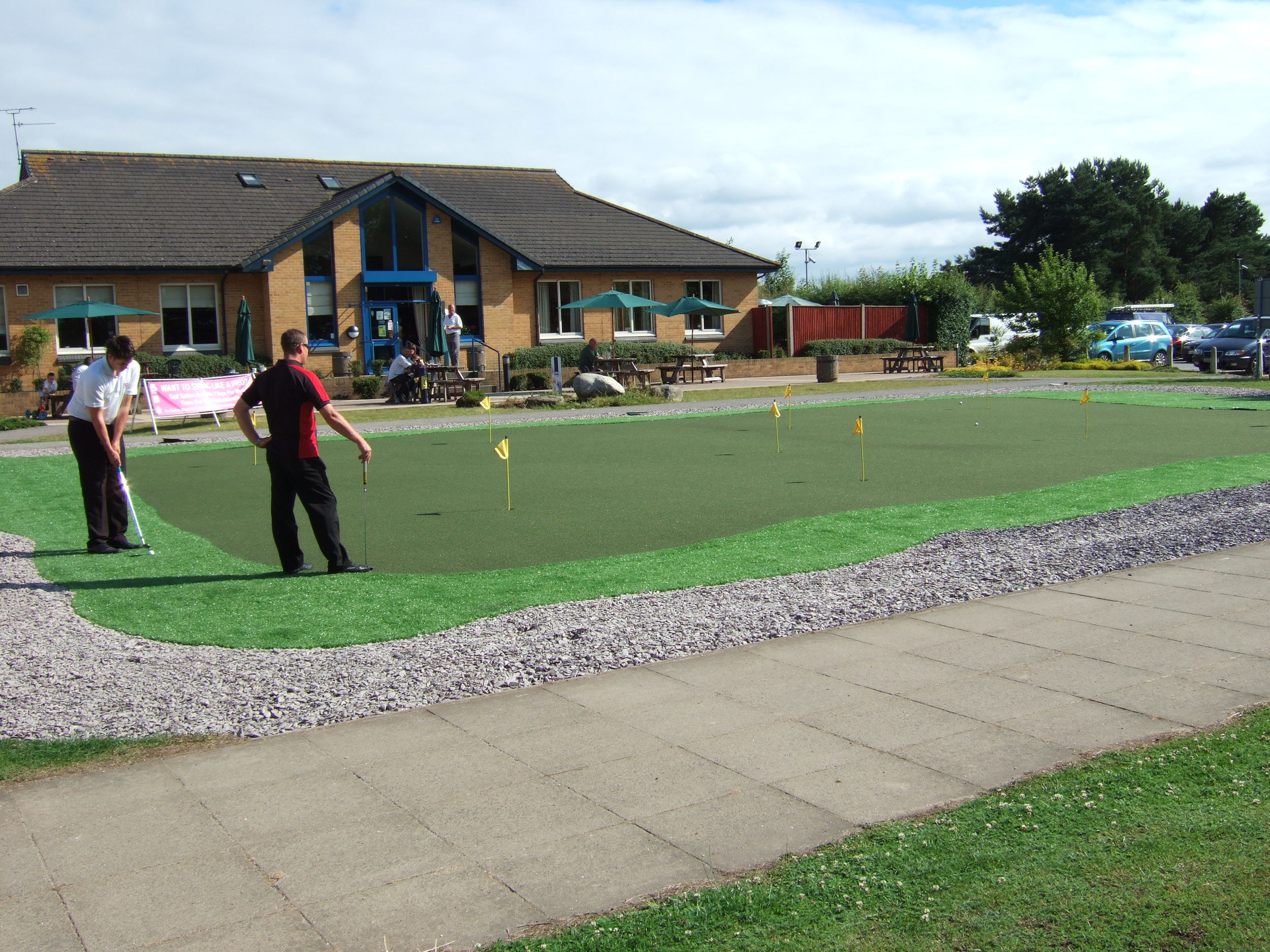 Putting and Chipping Green, The Downshire Golf Complex.jpg