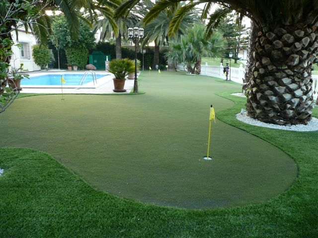 Private Putting Green, Malaga, Spain.JPG