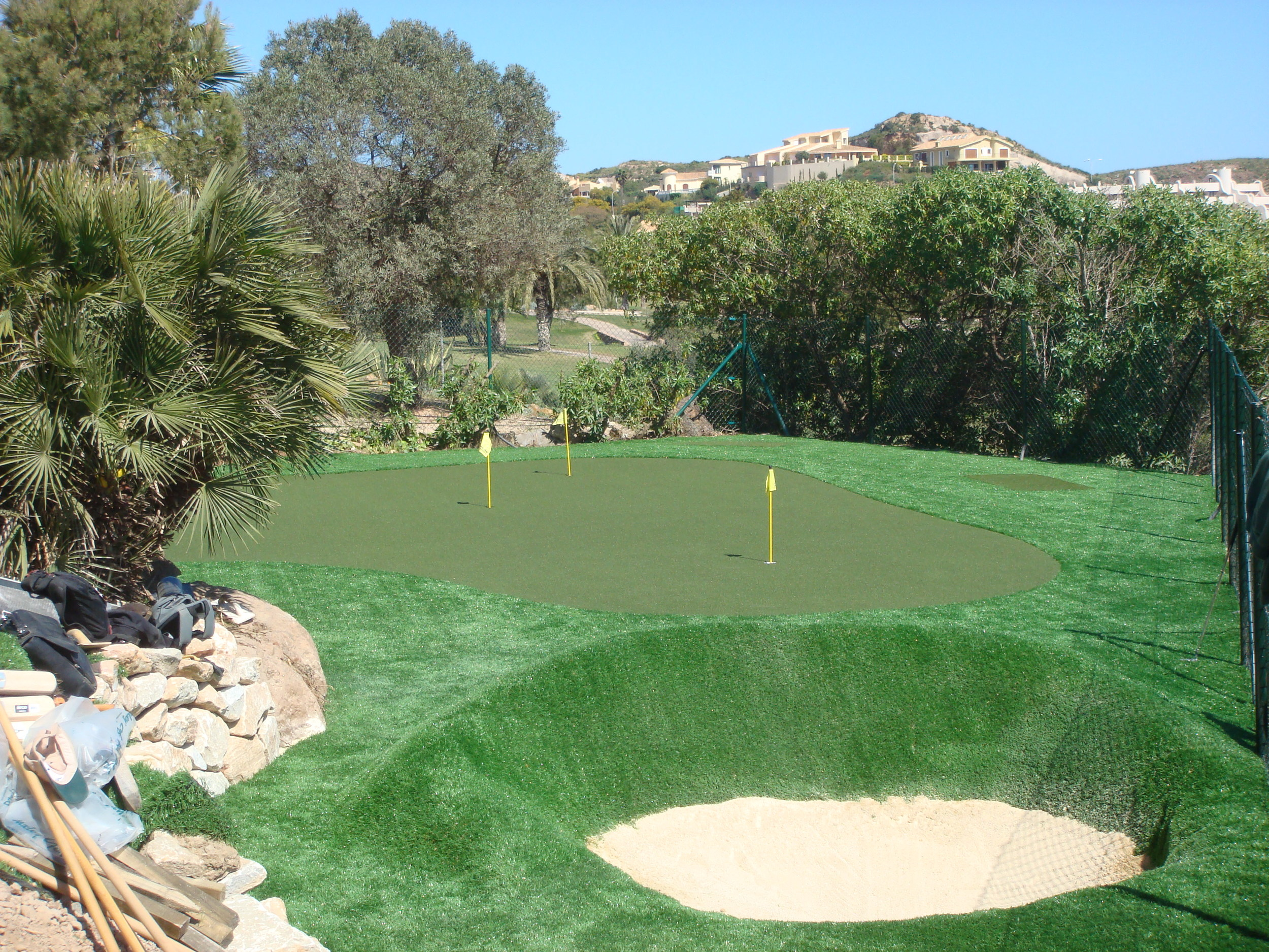 Private Putting Green and Bunker, Spain.jpg