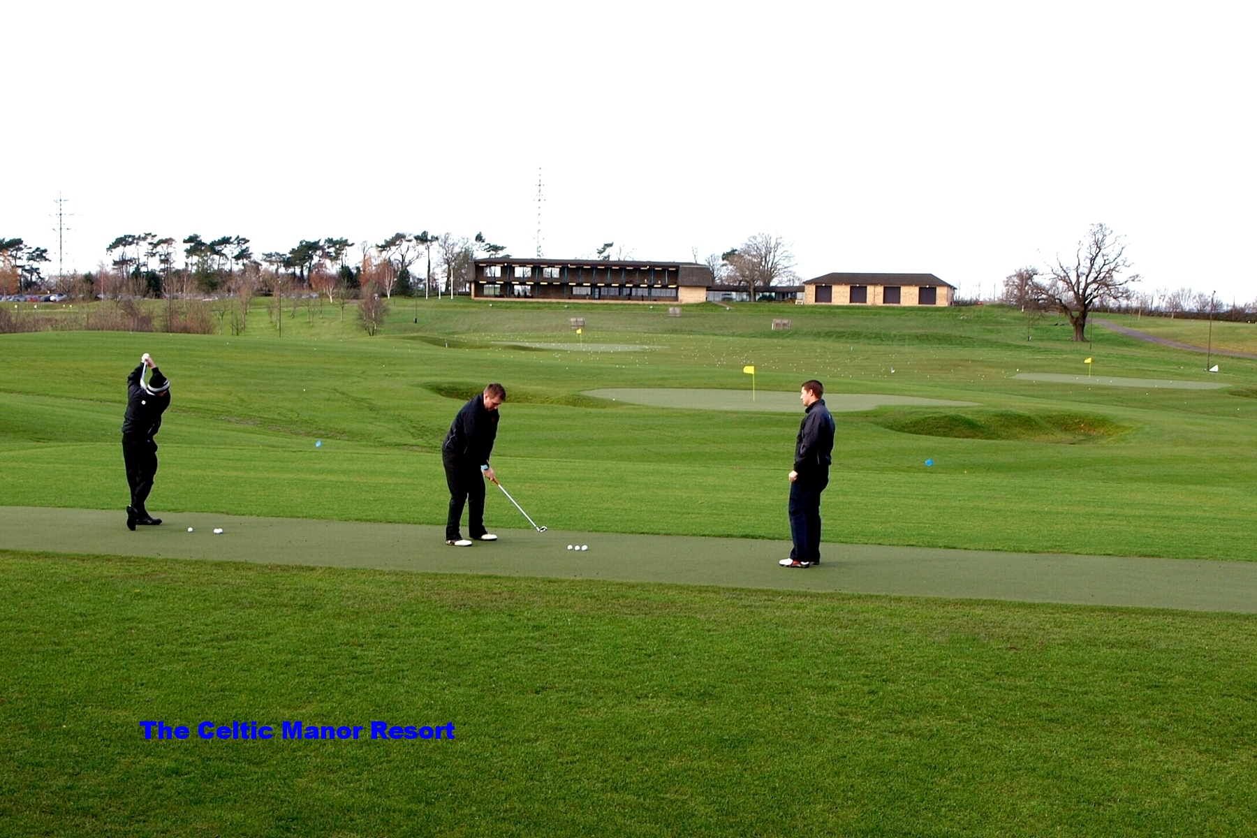 Practice Tee amd Greens, Centre of Excellence, Celtic Manor Resort.jpg