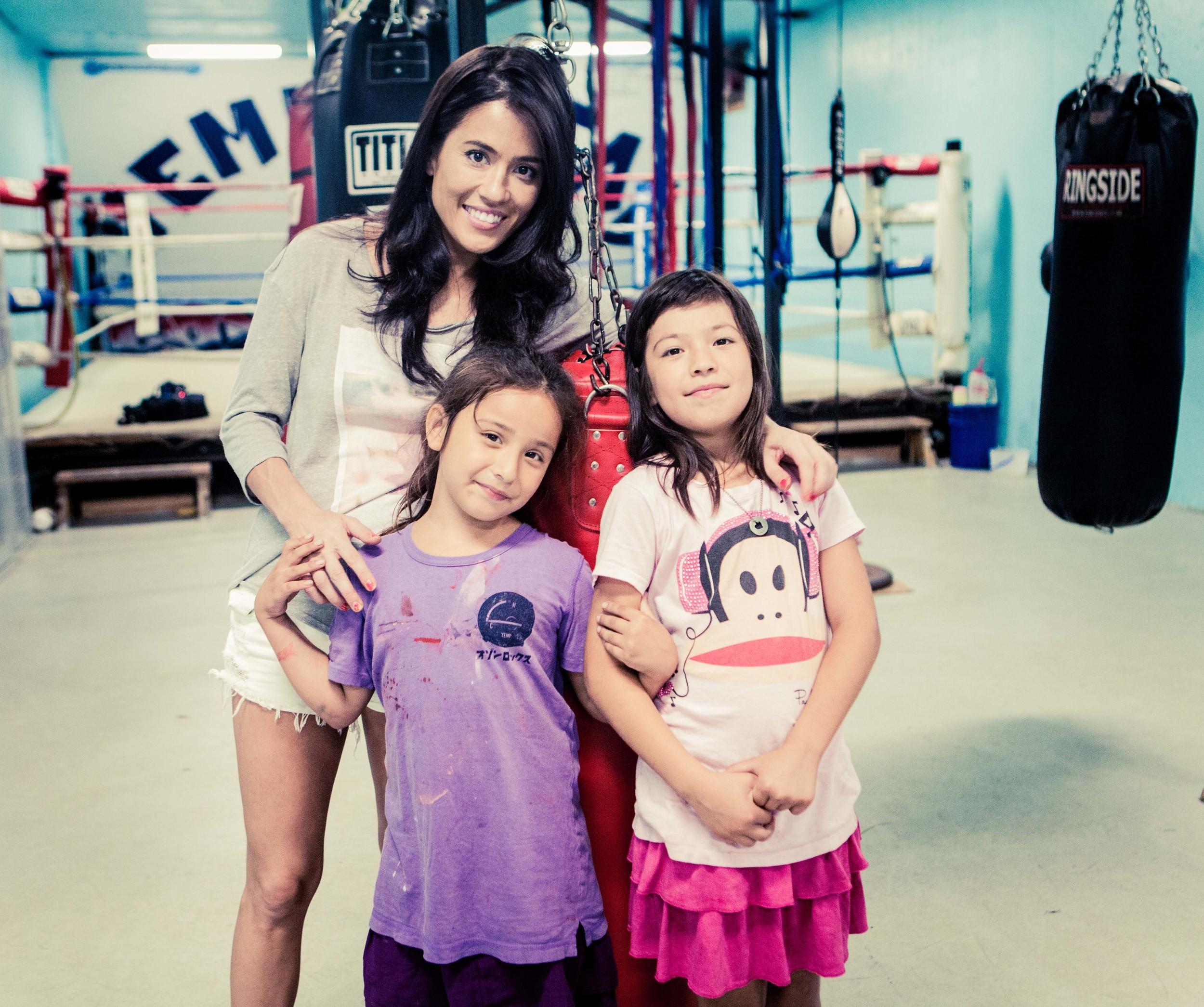 Ashley, Cara Castronuova, and Diana