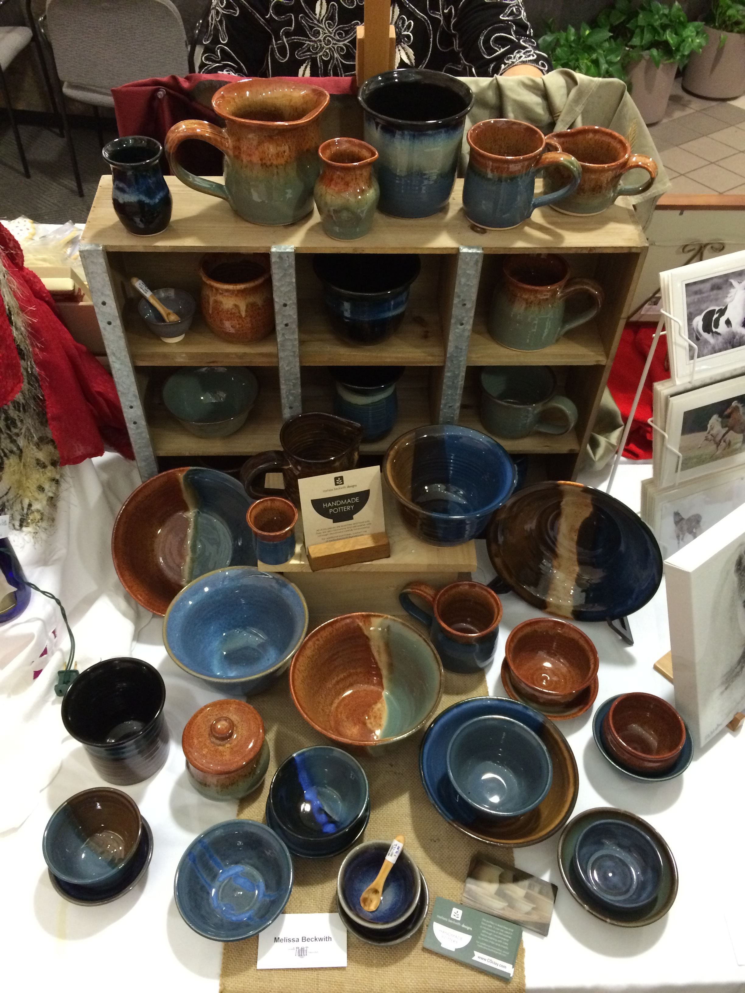 Pottery by Melissa Beckwith
