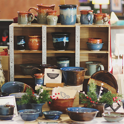 Pottery show by Melissa Beckwith