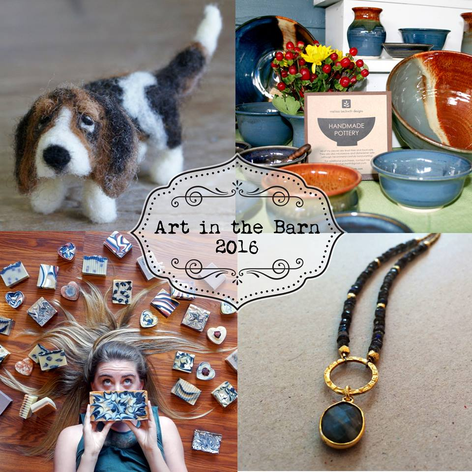 Art in the Barn, Melissa Beckwith Pottery