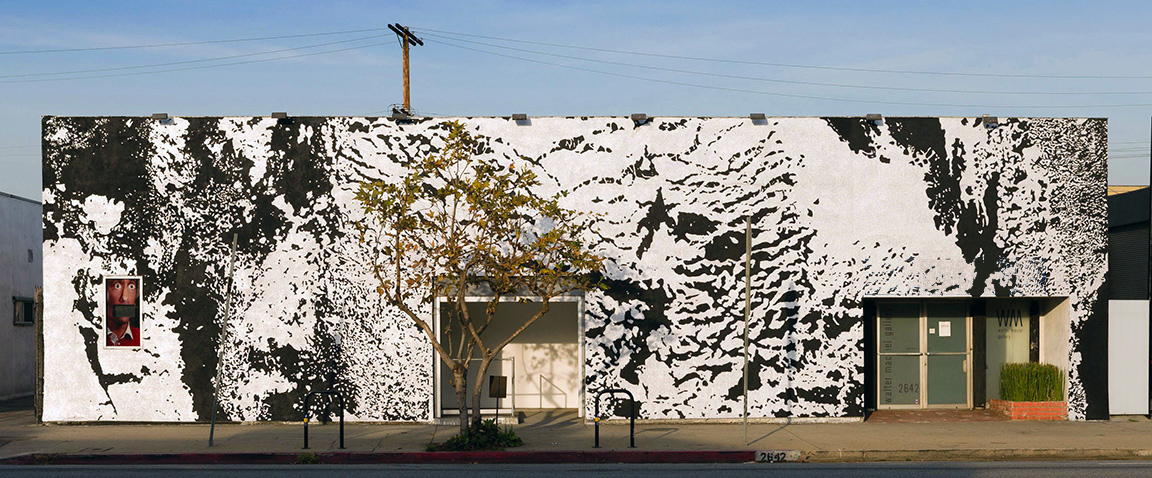 LAXART façade,  Installation view, LAXART, Los Angeles, 2014