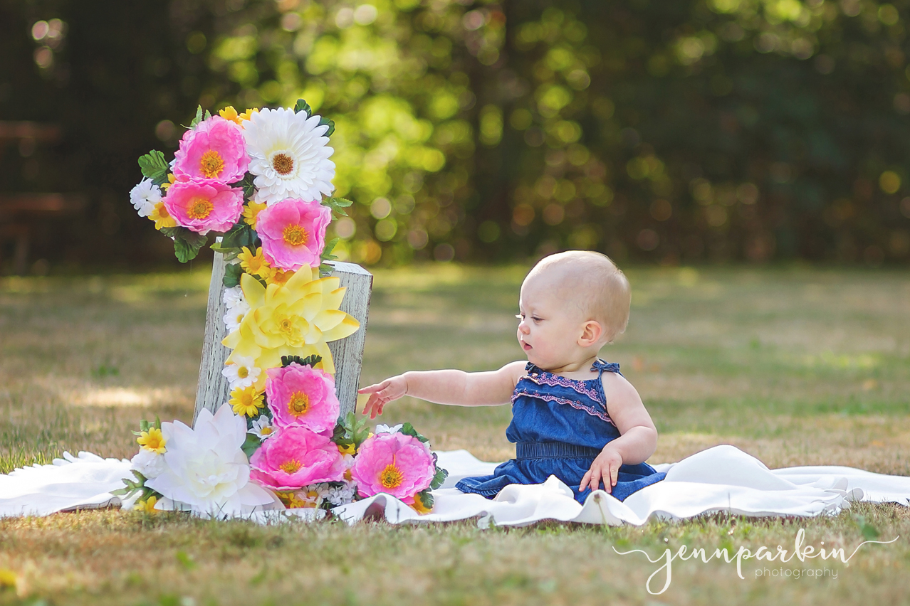 Powell River BC Baby Photographer First Birthday Family