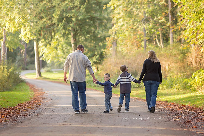 Powell River Photographer Family