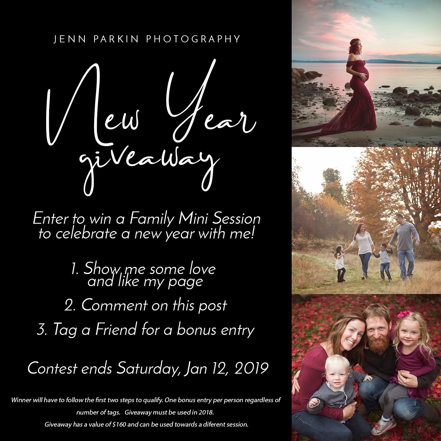 Powell River Photographer, Powell River, Photographer, Giveaway, Powell River Photo Contest, Family photography,