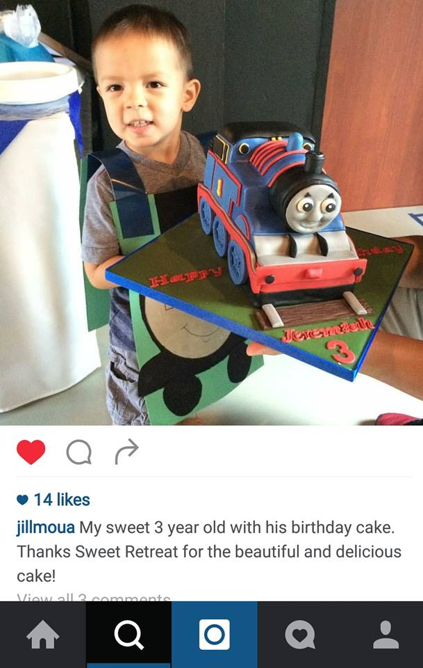 Thomas Train Cake - Children's Cake