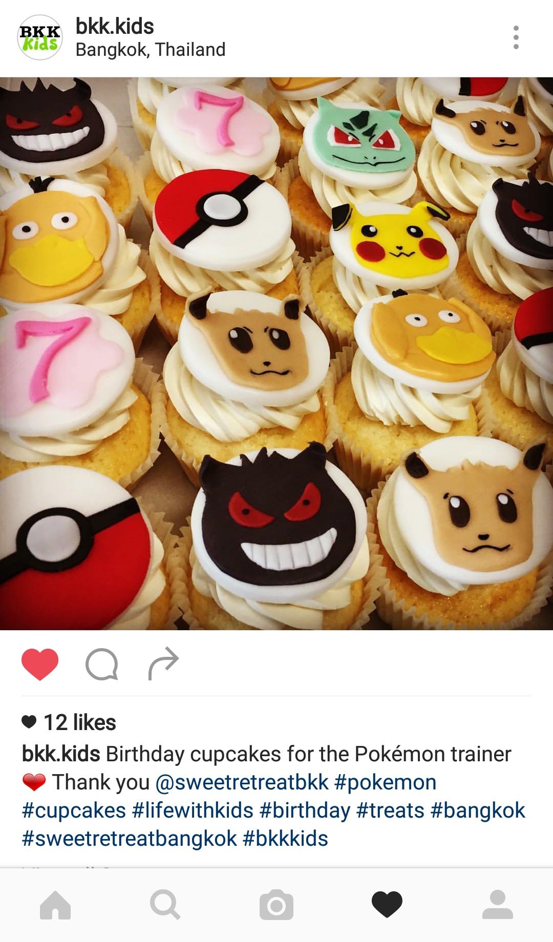 Pokemon Cupcakes - Cupcakes