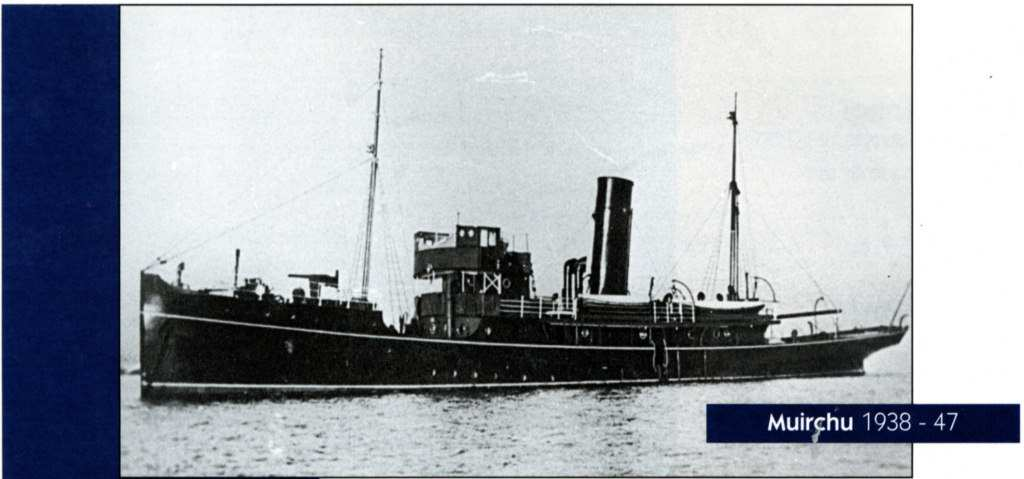 The newly refitted Muirchu circa 1938.