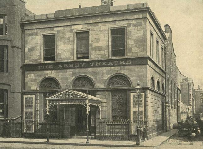 The Abbey Theatre,Dublin.