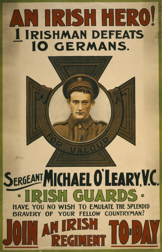 Michael O'Leary was one of hundreds of thousands who fought in WWI.