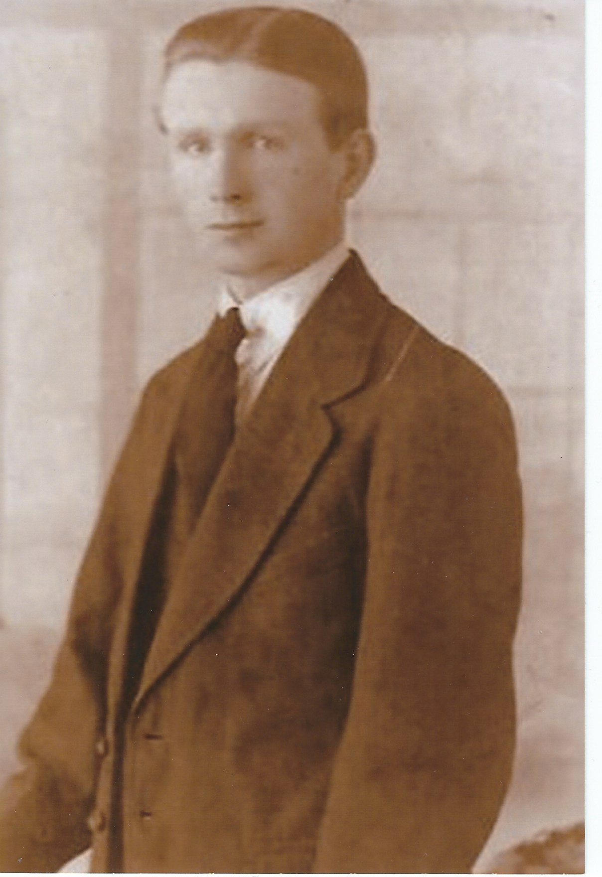 A young Paddy Joe Stephenson