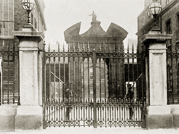 Dublin Castle, where John Doyle was interrogated.