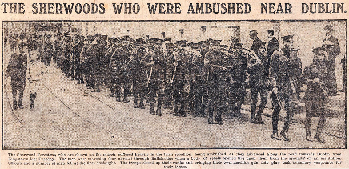 'The Sherwood Foresters'<strong>The story of Freddie Dietrichsen and the Battle of Mount Street Bridge</strong><a href= /1916-easter-rising/sherwood-foresters>CLICK HERE TO READ MORE</a>