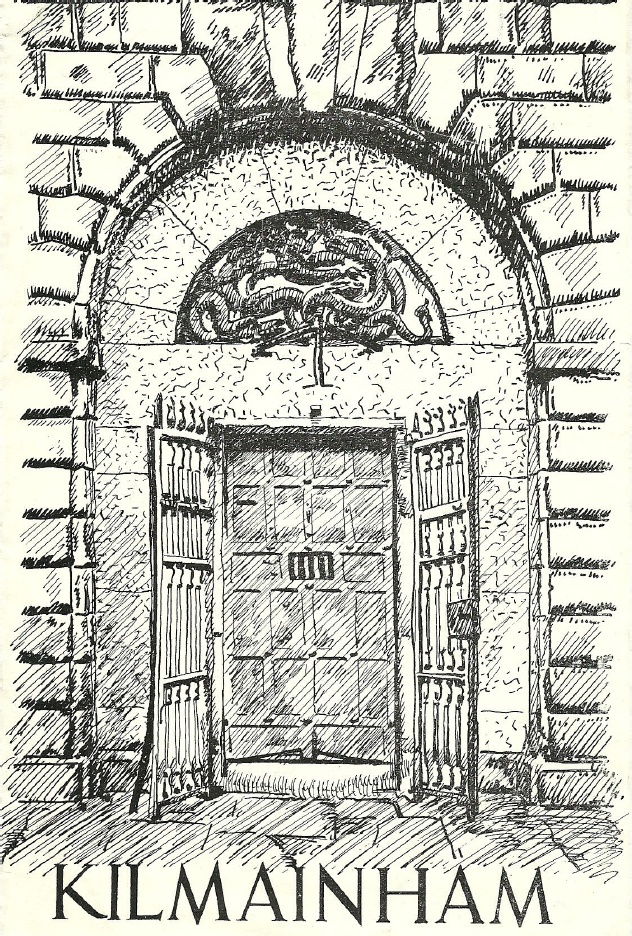 Desmond Stephenson's drawing of the entrance to Kilmainham Gaol
