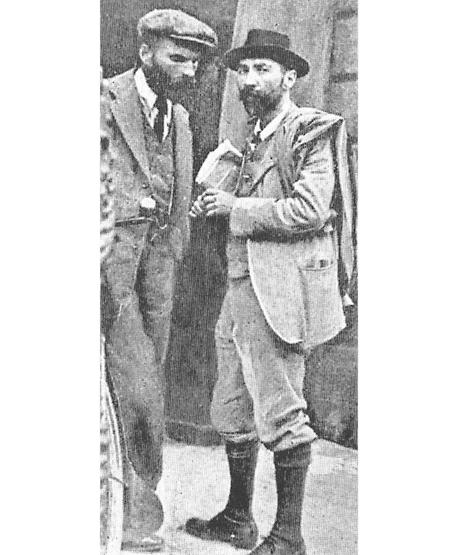 O'Brien (left) and Francis Sheehy-Skeffington