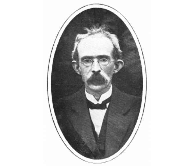 Tom Clarke, who ordered the creation of the Laois Company of the Irish Volunteers.
