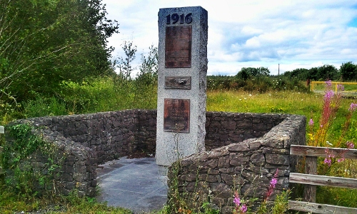 Monument commemorating the Colt Wood operation.