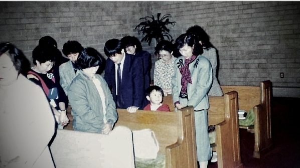 Korea. Circa 1989. 새벽기도. Pondering my parents' daily devotion to Christian prayer.