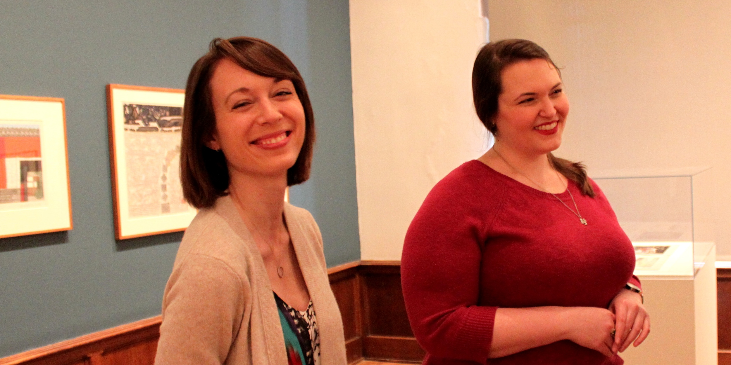Kendra and Katelyn in the gallery.jpg