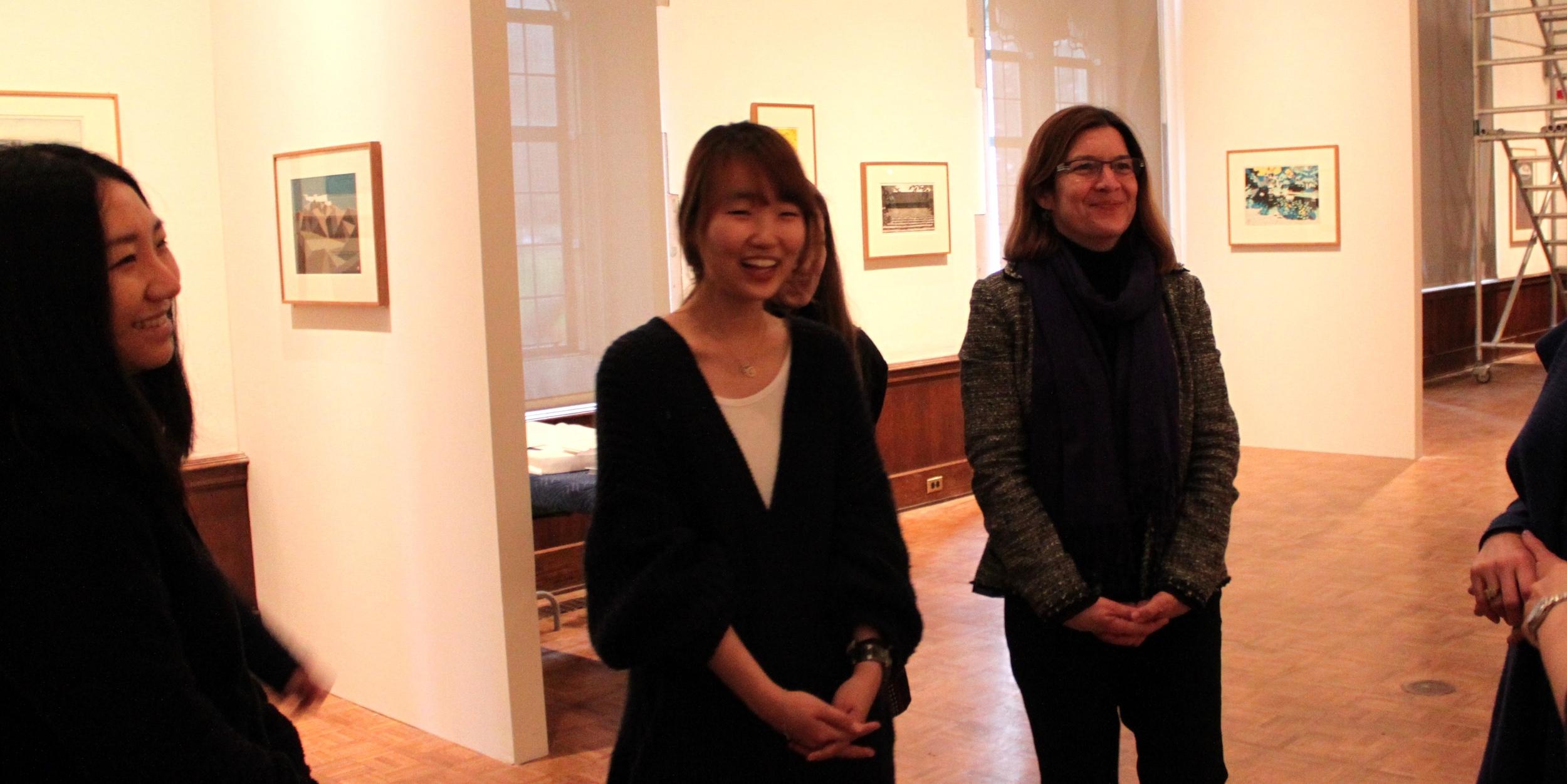 Jenny, Haely, Shelley in Gallery.jpg