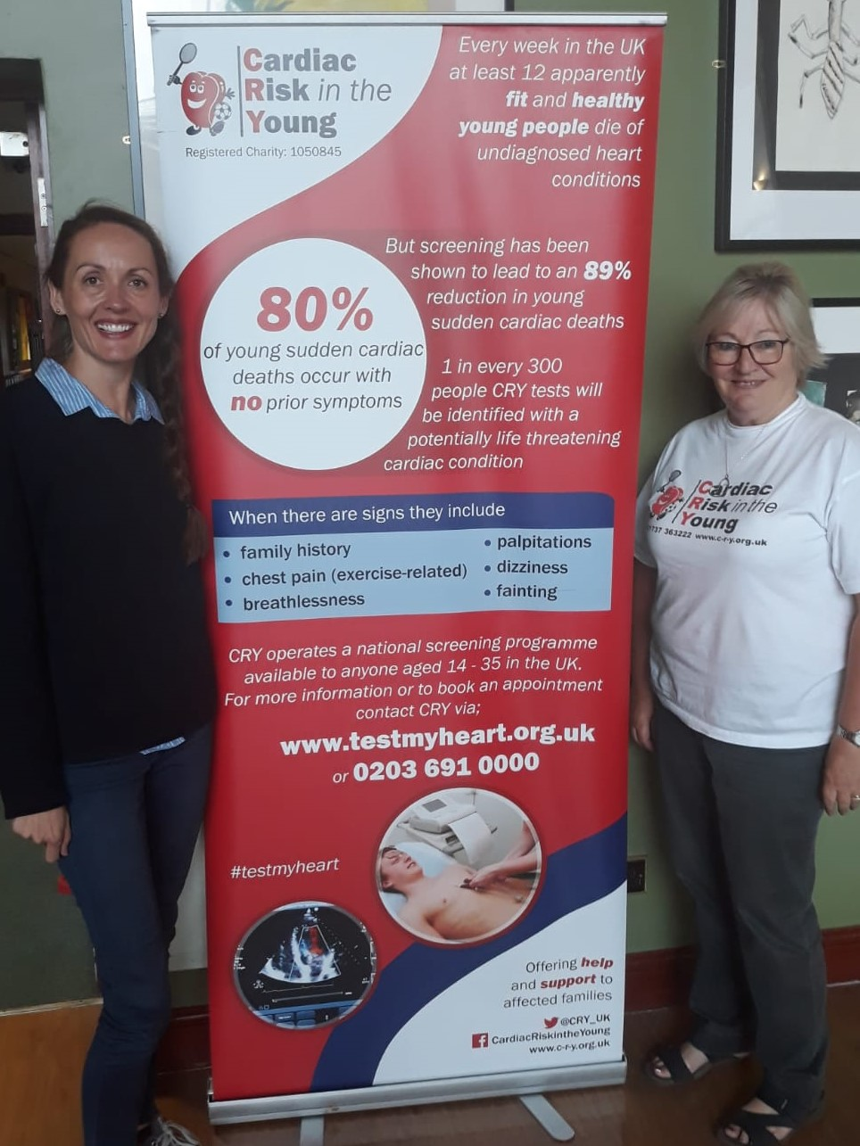 joanne with Sue Dewhurst CRY fundraiser.jpg