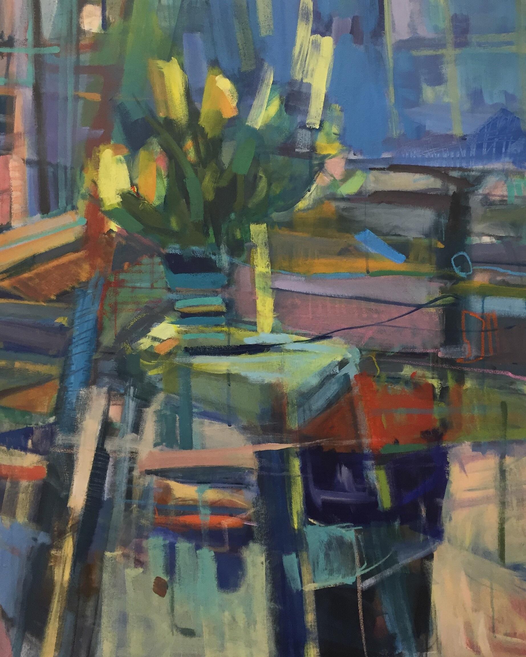 Studio with Tulips